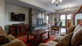 370129 80 St W, Rural Foothills M.D. - Relax By The Fire On The Lower Level