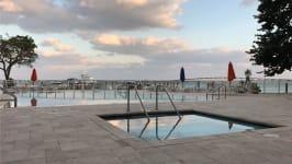 1581 Brickell Ave - Pool Area & Marina