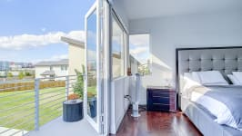 Price Reduced In Usd 60,000 / Sellers Offer Money Incentives For Closing Costs. - Master Bedroom With Balcony