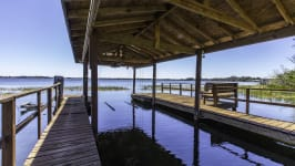 Gated Lake Front Estate Property On 3+ Acres