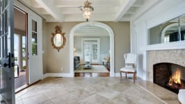 Serenity On The Sound - View Of Formal Living Room From Foyer