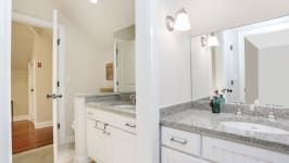 Serenity On The Sound - Full Bath With Two Separate Vanities.