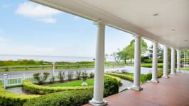 Serenity On The Sound - .Professionally Landscaped Front Yard.