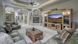 Sonoran Desert Luxury Estate  - Family Room