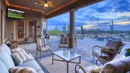 Sonoran Desert Luxury Estate  - Covered Patio