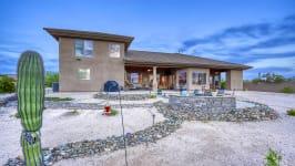 Sonoran Desert Luxury Estate  - Backyard