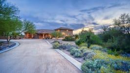 Sonoran Desert Luxury Estate  - Front Drive