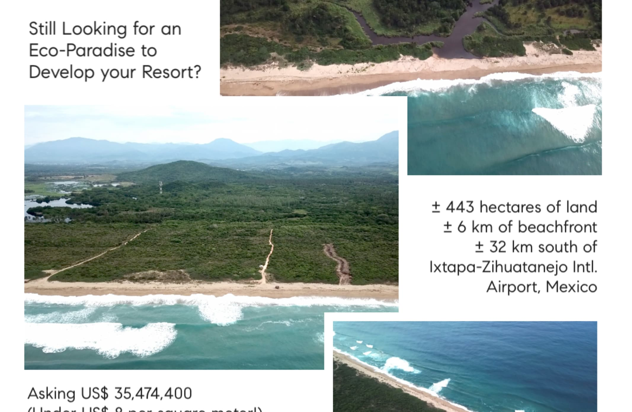 Still Looking For An Eco Paradise To Develop Your Resort?