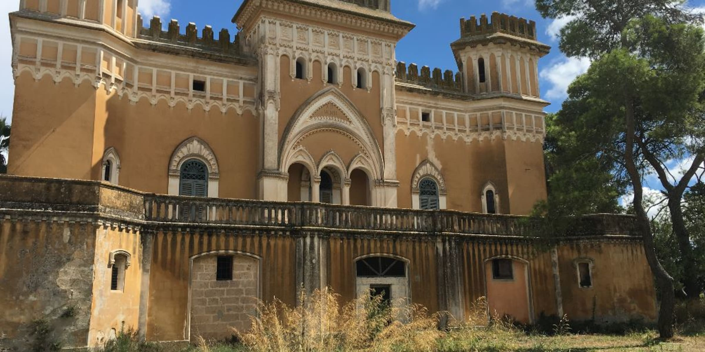 Best Kept Secret In Italy! …  Life In A Private And Secure Grand Italian Castle! - Front Of Castle