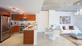 Midblock - Kitchen And Living Area