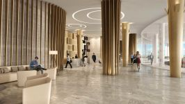 Hyde Resort & Residences Hollywood - Open Concept Lobby