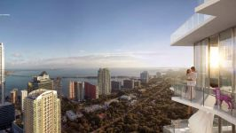 Sls Hotel & Residences Brickell - Terrace With A View