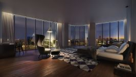 Sls Lux - Skyline View By Night