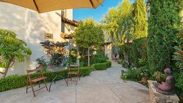 49 Hidden Trail  Prestigious Turtle Ridge Irvine With Forever Views! - Daytime Backyard To Atrium Sideyard
