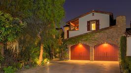 49 Hidden Trail  Prestigious Turtle Ridge Irvine With Forever Views! - Garage  Front View  Evening Shot