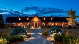 370129 80 St W, Rural Foothills M.D. - Stunning Timber Frame Design