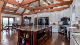 370129 80 St W, Rural Foothills M.D. - Modern Kitchen With Country Accents