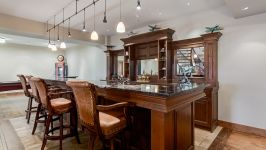 370129 80 St W, Rural Foothills M.D. - Welcome To The Full Bar With Drawers For Wine Storage