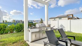 Price Reduced In Usd 60,000 / Sellers Offer Money Incentives For Closing Costs. - Entertainment Area In Backyard