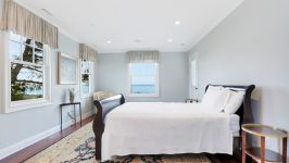 Serenity On The Sound - Master Bedroom #1 With Water Views.