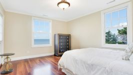 Serenity On The Sound - Water Views From Master Bedroom #2.