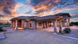 Sonoran Desert Luxury Estate  - Front Exterior