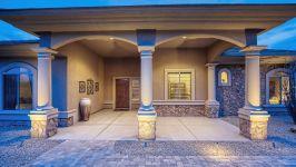 Sonoran Desert Luxury Estate  - Front Entry
