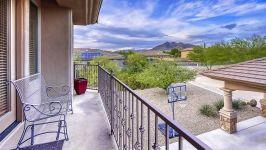 Sonoran Desert Luxury Estate  - Casita Balcony