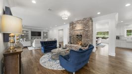 4181 Oak Rd - Open Flow Between Seating Areas