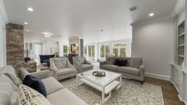 4181 Oak Rd - One Of 3 Living Room Spaces