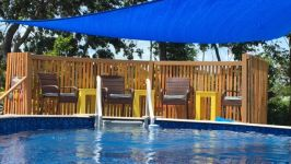 Property - Pool Deck With Sunshade