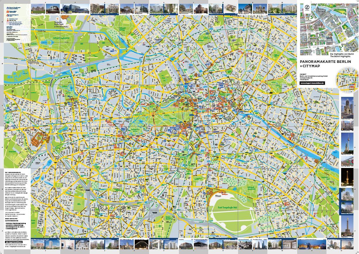 PAnoRAMAKARte BeRlin + CityMAP