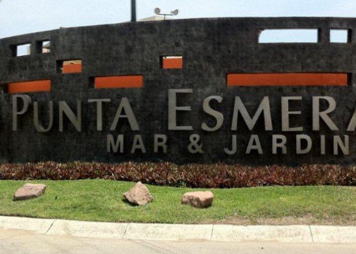Punta Esmeralda sign