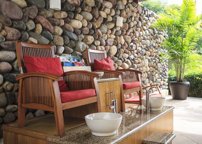 Punta Esmeralda spa area