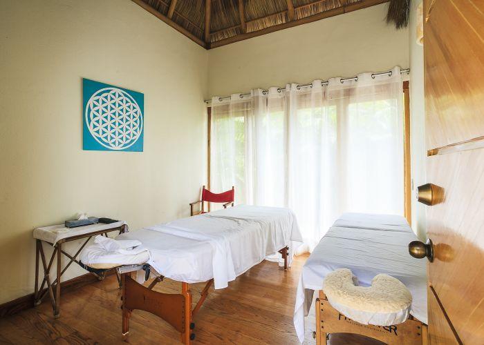 Punta Esmeralda spa massage room