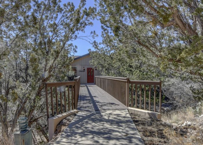 Bridge to the Ranch House