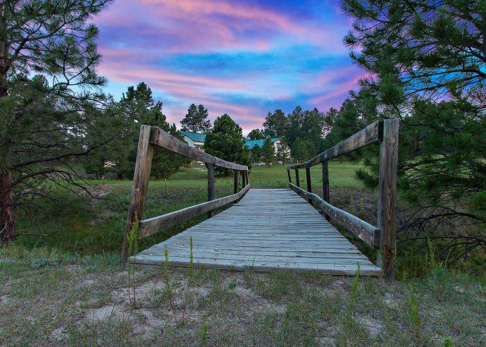 Bridge to Meadows and Pasture