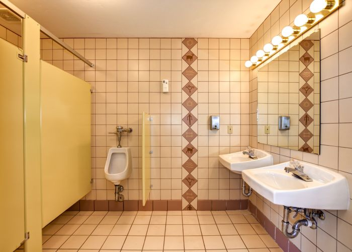 Men's Bathroom Meeting Hall