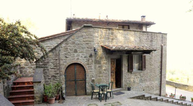 Via case sparse, Cortona, Arezzo