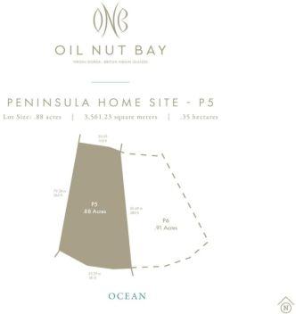Peninsula Homesite 5 Oil Nut Bay, Virgin Gorda