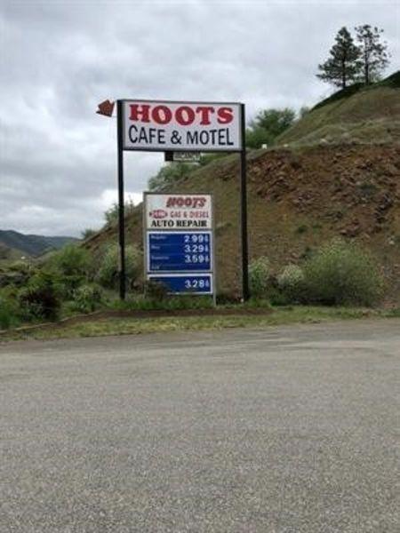 Iconic Hoots Cafe Motel  Gas