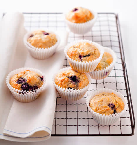 Muffins con chocolate o frutos secos