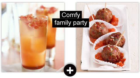 Comfy family party