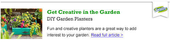 DIY Garden Planters - Read the Article
