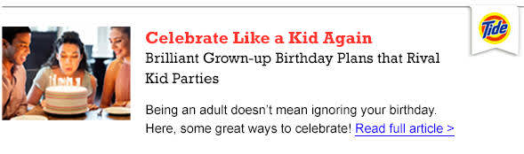 Celebrate like a kid again - Read the Article
