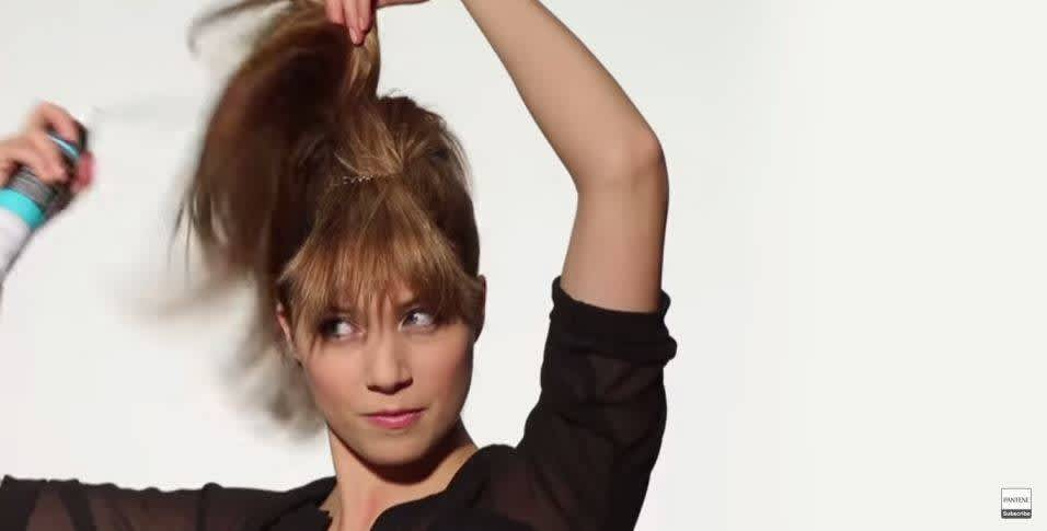 How to Make Fake Bangs - Step 4