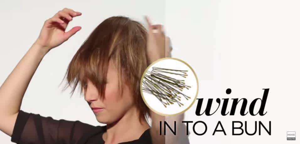 How to Make Fake Bangs - Step 5