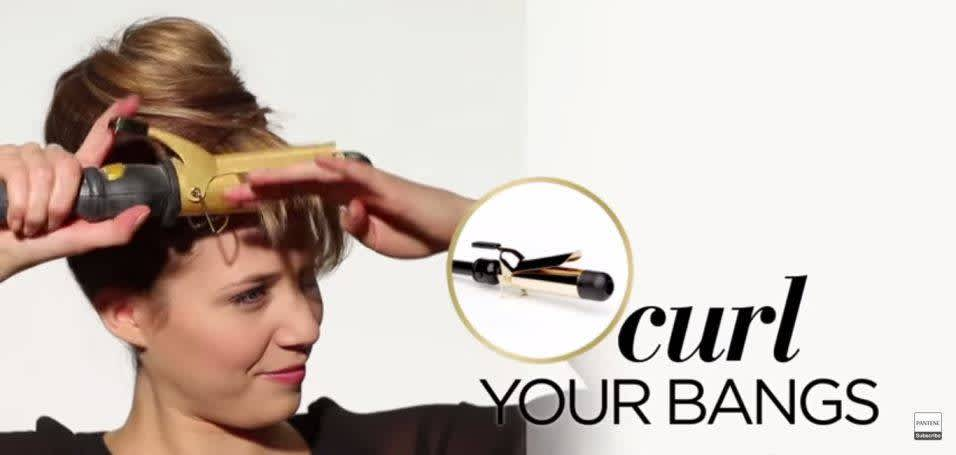 How to Make Fake Bangs - Step 6