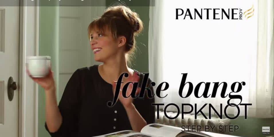 How to Make Fake Bangs - Pro Tip