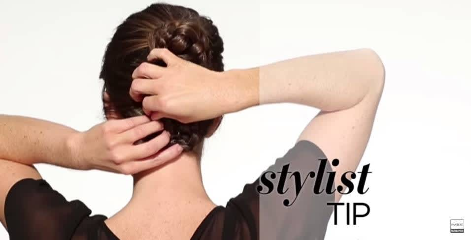 How to do Braided Bun Updo - Step 6